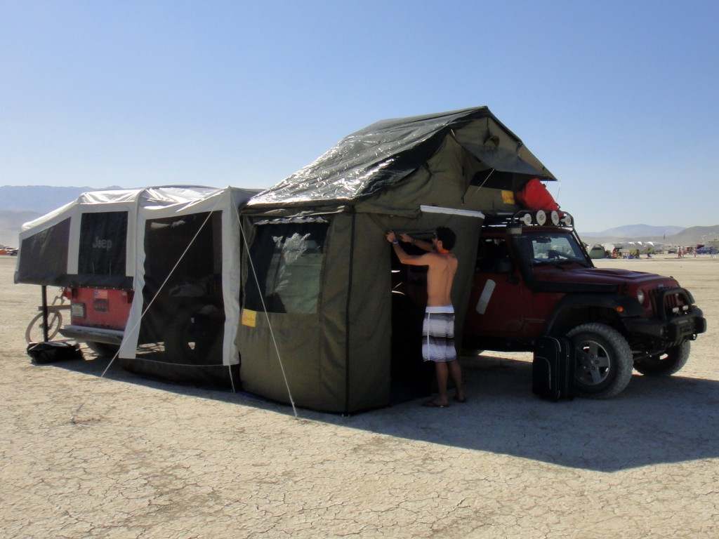 The tent is big enough to fit a wall air conditioner. : all season tents - memphite.com