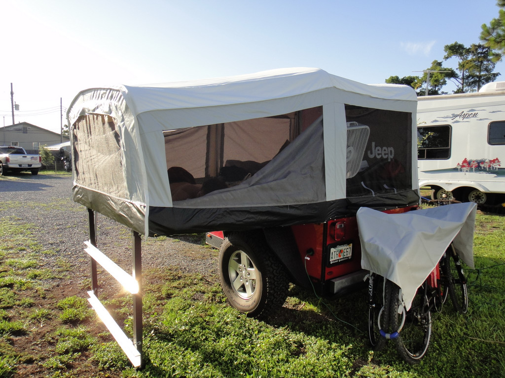 Excellent Jeep Wrangler Camper Trailer  Car Interior Design